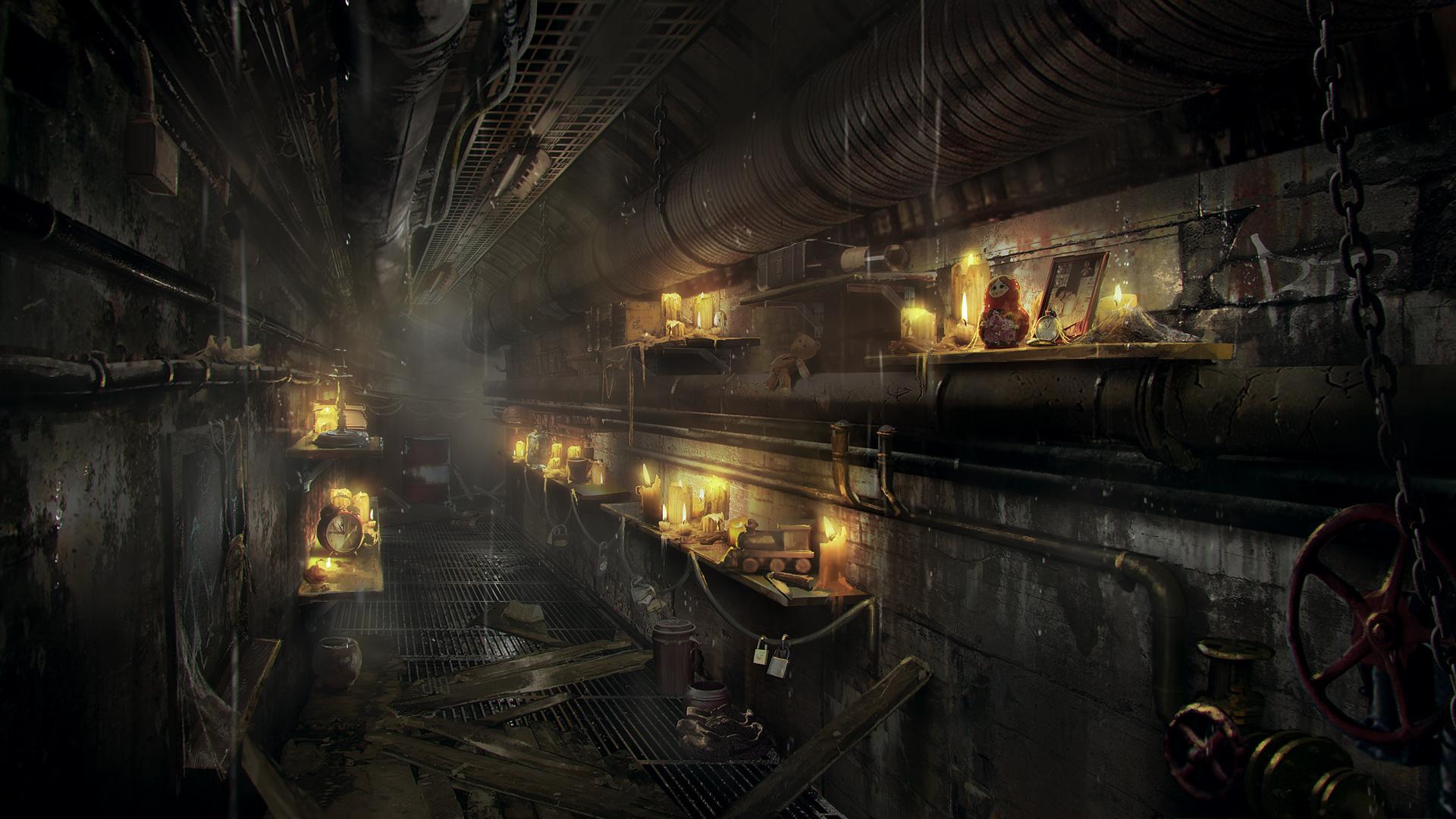 Metro Exodus Concept Art